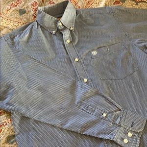 Small Wrangler blue shirt great condition